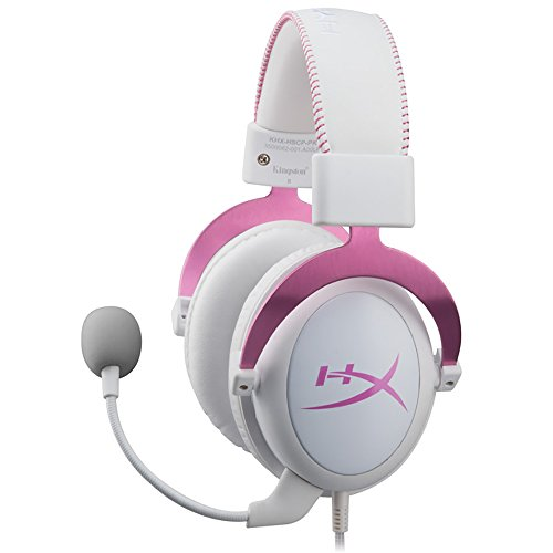 HyperX Cloud II Gaming Headset for PC & PS4 - Pink (KHX-HSCP-PK)