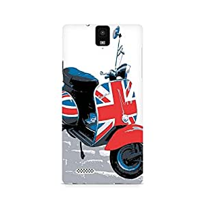 Ebby Vespa from UK Premium Printed Case For InFocus M330