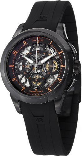 Perrelet Chrono Skeleton Men's Watch A1057/3