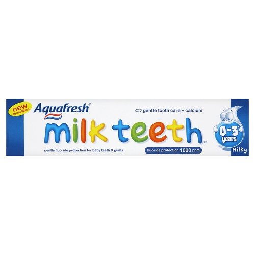 Aquafresh Milk Teeth 0-3 Years 50ml