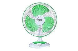 Vguard Finesta 400mm Table Fan (Green White)