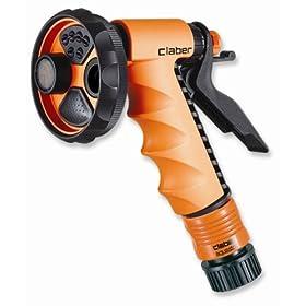 Claber Ergo Garden Spray Pistol Garden Hose Nozzle 9391