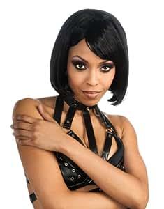 Rihanna Costume Accessory, Rihanna Black Bob Wig