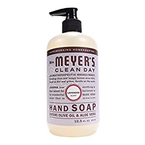 Mrs. Meyer's Hand Soap Lavender, 12.5 Fluid Ounce (Pack of 3)