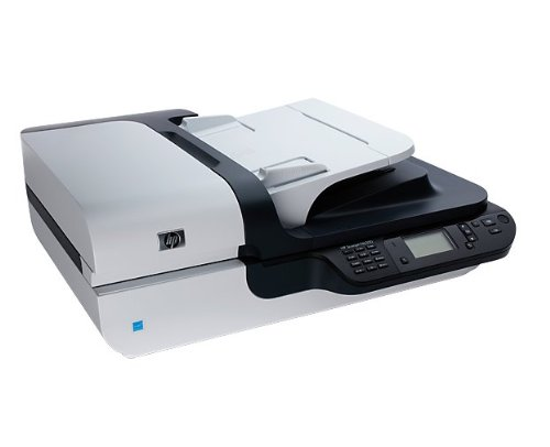 HP Scanjet N 6350 Scanner Flatbed / letto piano