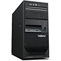 Lenovo ThinkServer TS140 Server with Intel Quad Core Xeon E3-1226 v3 / 4GB (Black)