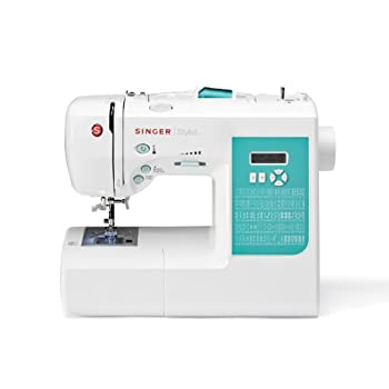SINGER 7258 100-Stitch Computerized Sewing Machine with DVD, 10 Presser Feet and Metal Frame