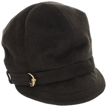 San Diego Hat Women's Velour Newsboy Cap, Chocolate, One Size