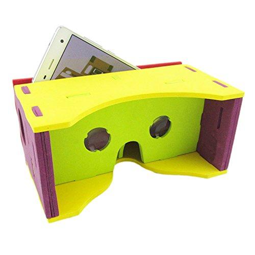 Google Cardboard Valencia Quality 3d Vr Virtual Reality Glasses New (EVA version)
