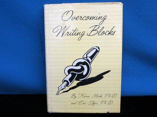 Title: Overcoming writing blocks