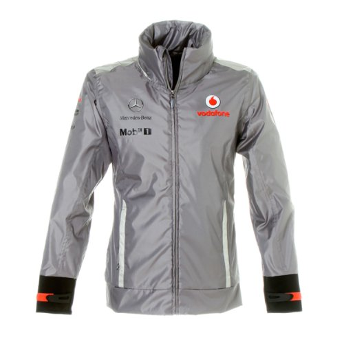 Vodafone McLaren Mercedes 2012 Team Waterproof Jacket (XXXL)