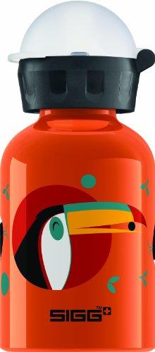 Sigg Cuipo Tiko Water Bottle, 0.3-Liter, Orange front-926096
