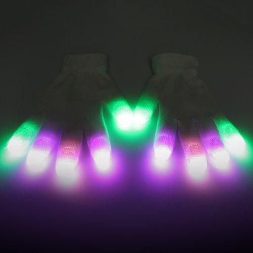 Joker Elite 1-Mode Glove Set - Led Rave Lightshows (Upgraded Microlights) - Official Emazing Lights