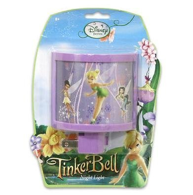 Disney Fairies Tinkerbell Girls Night Light