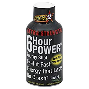 Amazon.com: Stacker 2 Extreme 6 Hour Power Energy Shot ...