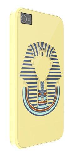 Faceless Tutankhamon Antico Egitto iPhone 4 / 4S di copertura in plastica della cassa del telefono di protezione