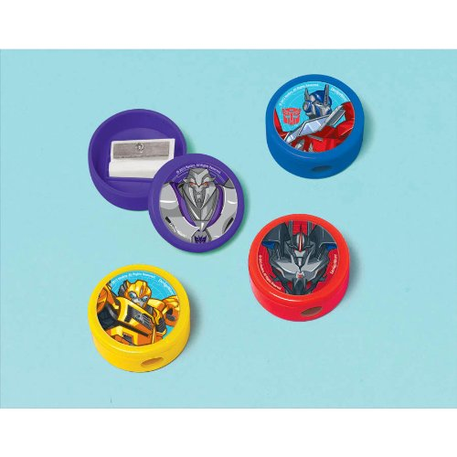 Transformers 'Prime' Pencil Sharpeners (12pc)