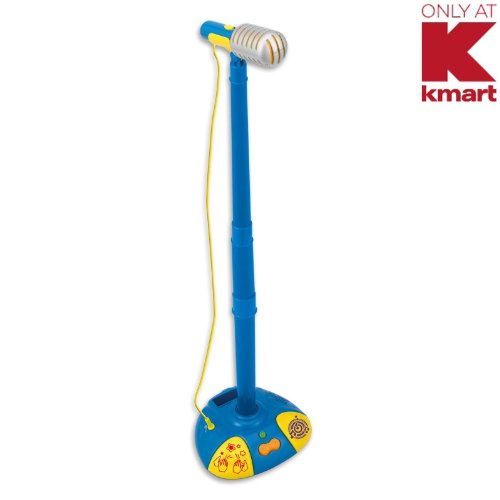 Awesome Just Kidz Kids Fun Mic And Stand 2063K-Nl