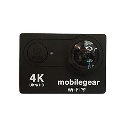 Mobilegear 4K Ultra HD WiFi Waterproof Digital Action & Sports Camera