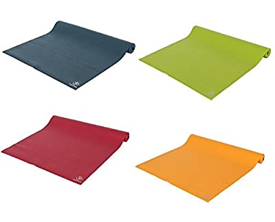Yogamatte Super Light Travel Mat Made in Germany, 183 x 60 x 0, 15 cm Extrem dichter, abriebfester Vinylschaum mit eingearbeitetem PES/Glasgarngewebe Maschinenwaschbar bis 60º C