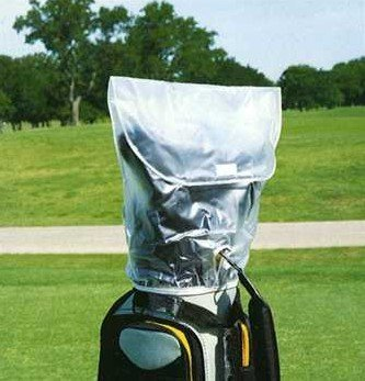 Hornungs Golf Bag Rain Hood Cover Clear PVC - 1