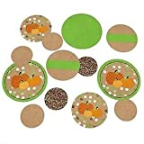Pumpkin Patch - Fall & Halloween Party Table Confetti - 27 Count
