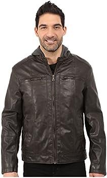 Tommy Hilfiger Sherpa Lined Moto Jacket