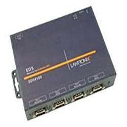 Lantronix ED41000P0-01 Device Server EDS 4100 - Device server - 4 ports - 10Mb LAN, 100Mb LAN, RS-232, RS-422, RS-485
