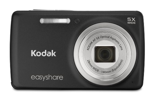 Kodak EasyShare M552 14 MP Digital Camera with 5x Optical Zoom and 2.7-Inch LCD - Black (New Model)