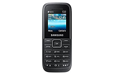 Samsung Guru FM Plus SM-B110E/D Black