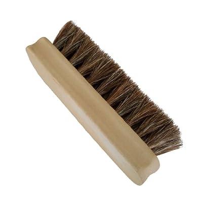 FootMatters Genuine Horsehair Shoe Shine Brush