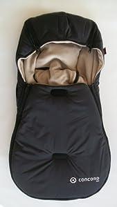 Concord - Saco de abrigo para silla de coche, color negro (SBI0055) por Concord