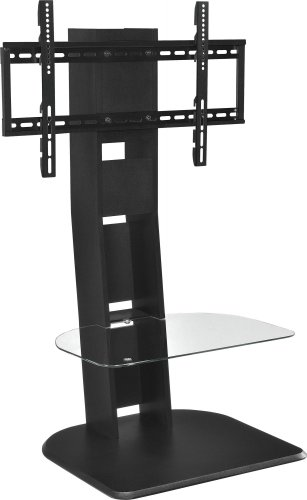 Altra Furniture Galaxy TV Stand with Mount for TVs Up to 50-Inch, Black Finish image