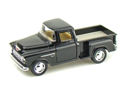 1955 Chevy Stepside Pick-Up 1/32 Black