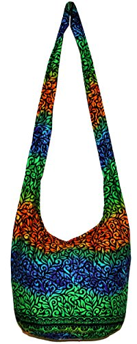 All Best Thing Crossbody Bohemian Hippie Hobo Boho Big Bag 37 Inch Length BOH15