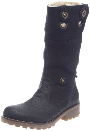 Tara Ladies' Fur Trimmed Ankle Boots Black 6 / 39
