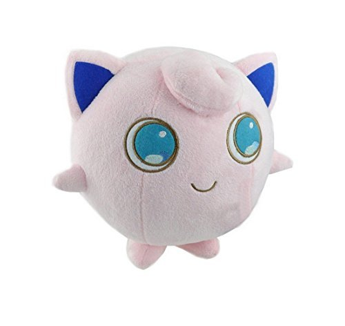 "Pokemon Jigglypuff Anime Animals Plush Plushies Stuffed Doll Toy 6"" - 1"