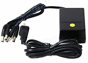 VideoSecu 12V DC CCTV Security Camera Power Supply Adapter with 4 (2.1mm) Channel Connectors Port PW154 1I0