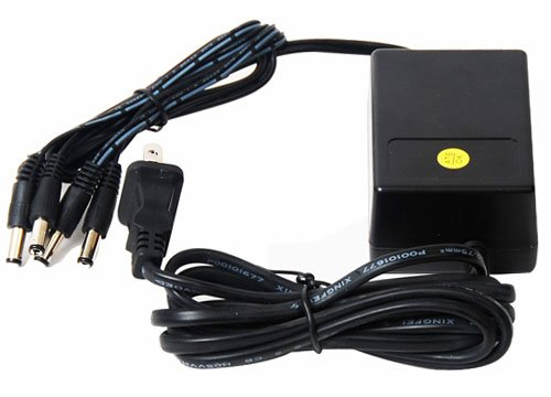 VideoSecu 12V DC CCTV Security Camera Power Supply Adapter with 4 (2.1mm) Channel Connectors Port PW154 1I0 image
