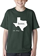 Expression Tees Texas Est 1845 Home Tee Kids T-shirt