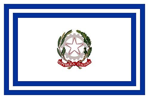 flagge-civil-authority-of-italy-italian-civil-authority-distintivo-delle-autorita-civili-fahne-20x30