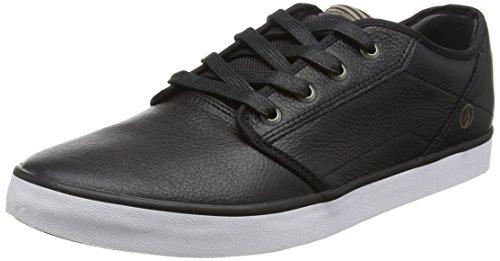 VolcomGrimm 2 Shoe - Scarpe da Skateboard Uomo , Nero (Schwarz (Black Combo BLC)), 41