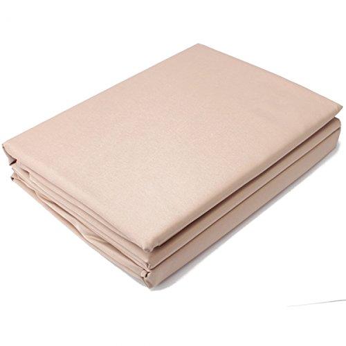"4Pc Microfiber Bedding Sheet Set For Ca King (108"" X 102"") Beige 13005920 front-805072"