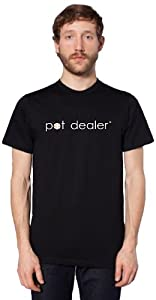 Bloem PDSHIRT-M-L-BLACK Men's Pot Dealer T-shirt, Large, Black