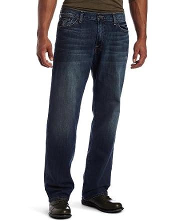 Lucky Brand Men's Vintage Straight Jean, Ol Aeromarine, 32W x 32L