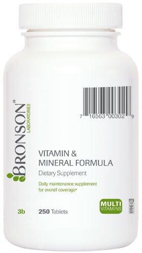 Vitamin And Mineral Formula (250)