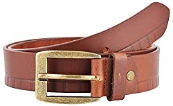 Midas Men's Belt (CLB540_36 , Brown)