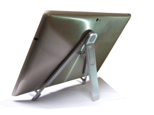 Navitech シルバーメタルスタンドホルダー  <Xperia Tablet Z Wi-Fiモデル SGP312JP> 対応
