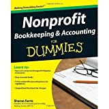 img - for Nonprofit Bookkeeping & Accounting For Dummies [Paperback] [2009] 1 Ed. Sharon Farris book / textbook / text book