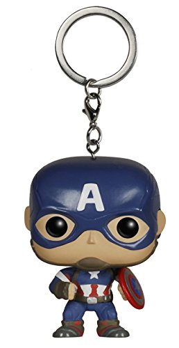 FunKo 5224 - Statuine Avengers 2 Age Of Ultron Pocket Pop Keychain (Pdq) - Captain America